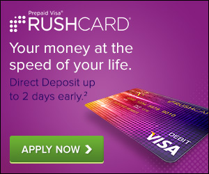 RushCard - Apply For A Prepaid Visa RushCard