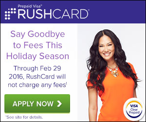 Prepaid Visa RushCard - Apply For A Prepaid Visa RushCard