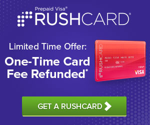 Prepaid Visa RushCard - Apply For A Prepaid Visa RushCard